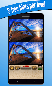 screenshot of Find the differences 500 levels version 1.1.3