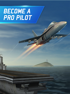 screenshot of Flight Pilot Simulator 3D Free version 2.1.10