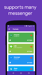 screenshot of Flychat version 1.11.RC2