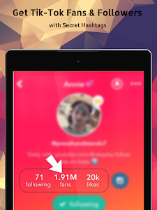 screenshot of Follow ?- Get Real Followers & Fans for Tik ?Tok version 5.0