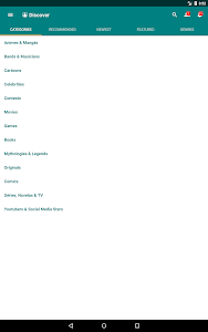 screenshot of Free Books - Spirit Fanfiction and Stories version 2.1.063
