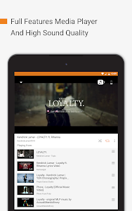 screenshot of Free Music: Unlimited for YouTube Stream Player version 4.4