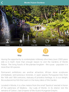 screenshot of Madeira Funchal & Garden Tours version Varies with device