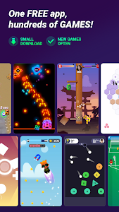 screenshot of GAMEE - Play games with your friends version 2.1.3