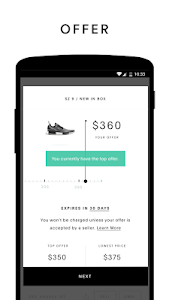 screenshot of GOAT: Buy & Sell Sneakers version 1.39.0