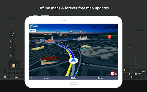 screenshot of Sygic GPS Navigation & Maps version Varies with device