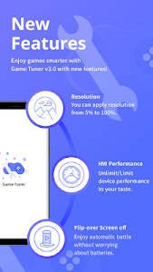 screenshot of Game Tuner for Game Launcher version 3.1.03
