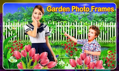 screenshot of Garden Frame Photo Editor 2019 version 1.27