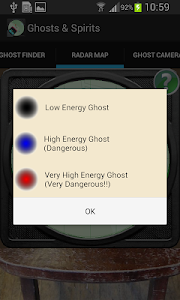 screenshot of Ghosts version 1.28