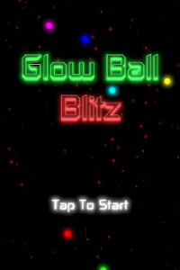 screenshot of Glow Ball Blitz version 4.0
