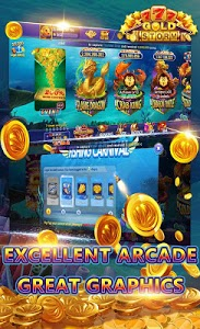 screenshot of Gold Storm Casino - Asian Fishing Arcade Carnival version Varies with device