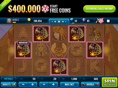 screenshot of Golden Age of Egypt Rich Slots version 2.22.2