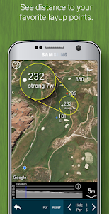 screenshot of Golf GPS Rangefinder: Golf Pad version 14.35