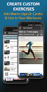 screenshot of Gym Exercises & Workouts version 3.21