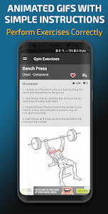 screenshot of Gym Exercises & Workouts version 3.27
