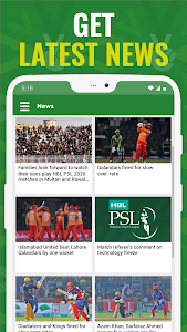 screenshot of HBL PSL 2020 - Official Pakistan Super League App version 1.7.5