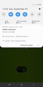 screenshot of HSPA+ Optimizer | H+ Signal Booster & Stabilizer version 2.6