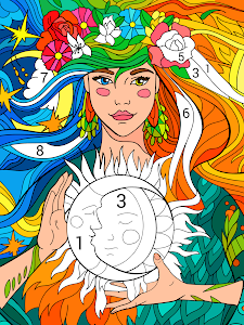 screenshot of Happy Color™ – Color by Number version 2.7.1