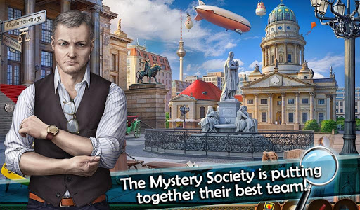 screenshot of Mystery Society 2: Hidden Objects Games version 1.38