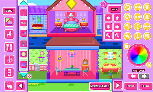 screenshot of Home Decoration Game version 3.1