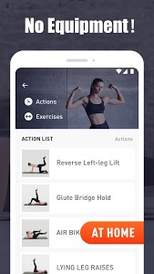 screenshot of Home Workout - Fitness & Workout at Home version 1.6