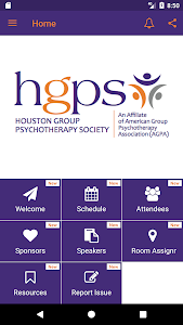 screenshot of Houston Group Psychotherapy version 2.2.9