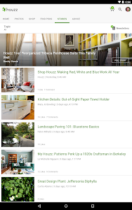 screenshot of Houzz Interior Design Ideas version 17.4.0