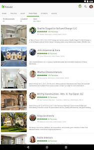 screenshot of Houzz Interior Design Ideas version 5.0.5