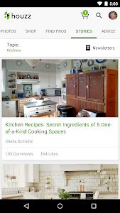 screenshot of Houzz Interior Design Ideas version 5.0.7