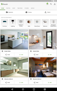 screenshot of Houzz Interior Design Ideas version 17.8.0