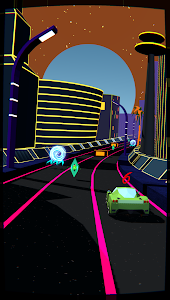 screenshot of Hyper Racer version 1.1.3