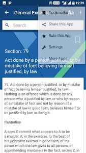 screenshot of IPC - Indian Penal Code 1860 version 0.1.8