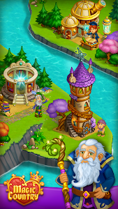 screenshot of Idle Magic City version Varies with device