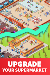 screenshot of Idle Supermarket Tycoon - Tiny Shop Game version 1.1