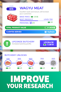 screenshot of Idle Supermarket Tycoon - Tiny Shop Game version 1.4.1