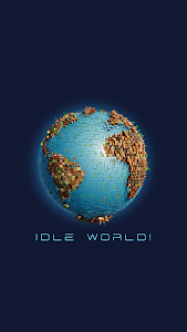 screenshot of Idle World ! version 2.4