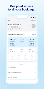 screenshot of IndiGo | India's Best Flight Booking App version 5.0.34