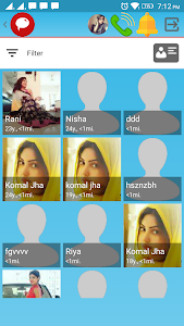 screenshot of Indian Girls Live Chat version 7.4