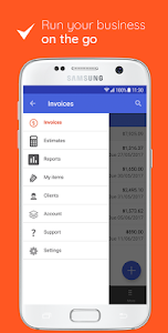 screenshot of Invoice Maker: Estimate & Invoice App version 2.31.0