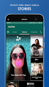screenshot of JioChat: HD Video Call version 3.2.7