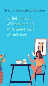 screenshot of Journey: Diary, Motivational Journal version Varies with device
