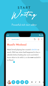screenshot of Journey: Diary, Journal version Varies with device