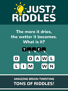 screenshot of Just Riddles version 1.0.27