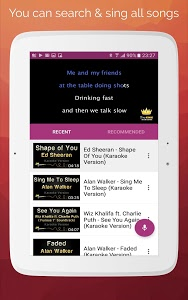 screenshot of Karaoke 2019: Sing & Record version 7.8.0