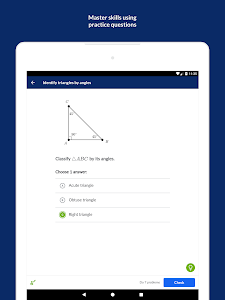 screenshot of Khan Academy version Varies with device