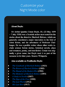 screenshot of KReader read for kindle file, pdf and all formats version 3.2.1