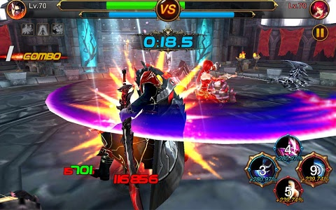 screenshot of Kritika: The White Knights version 2.25.3