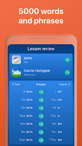 screenshot of Learn Russian FREE - Mondly version 7.5.0