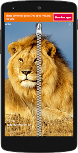 screenshot of Lion Zip ILock version 1.4