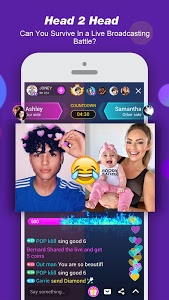screenshot of LiveMe - Video chat, new friends, and make money version Varies with device